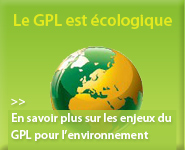 GPL ecologique, installation Gpl